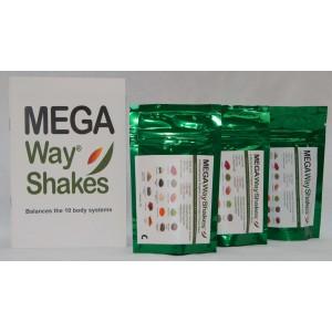 Starter Kit Qty 3 - 50g VEGAN Cacao & Vanilla shake packets + BONUS